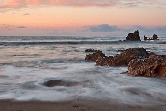 Corona Del Mar Sunrise by Eddie Yerkish