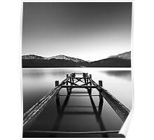 Loch Lomond jetty Poster