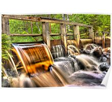 The honey water dam [HDR] Poster