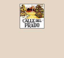 Calle del Prado, Madrid Street Sign, Spain T-Shirt