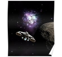 Approaching the Galactic Core Poster