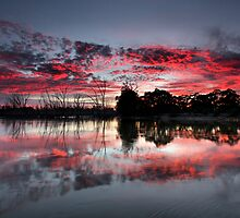Fire In The Sky II by Mark Cooper