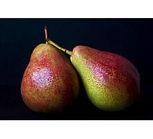 Blush Pears Photographic Print