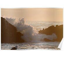 Light Through The Splash Poster
