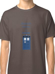 All i want for christmas is a tardis Classic T-Shirt