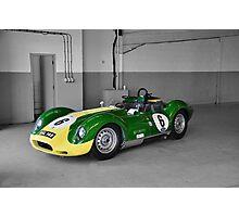 Lister Race Car Photographic Print