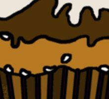 Baked Cupcake by s t u d i o BURKE Sticker