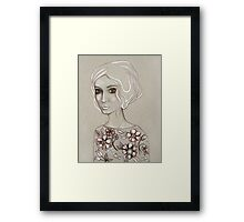 Flowers I Keep Framed Print