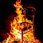 Burning chair  by Proobjektyva