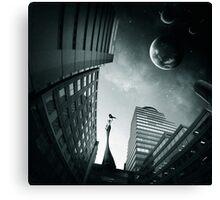 sci-fi 3 Canvas Print