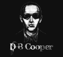 D B Cooper by blackiguana