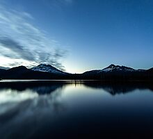Sparks Lake Oregon by Toby Harriman