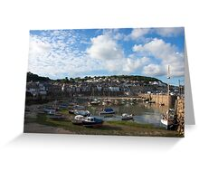 Mousehole Harbour Greeting Card