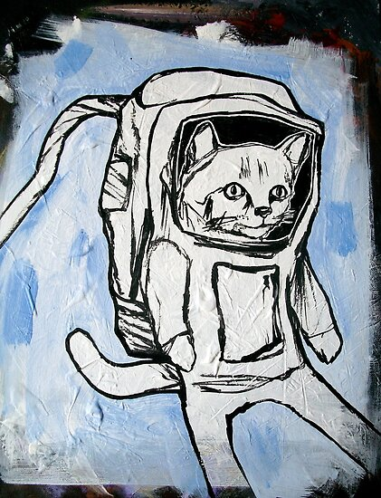 exploring the depths of outer space for the elusive galactic catnip by starheadboy
