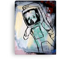 pup in space Canvas Print