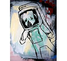 pup in space Photographic Print