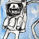 pug in space by starheadboy