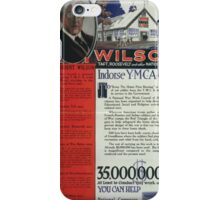 Wilson Taft Roosevelt and other national leaders indorsesicYMCA work 002 iPhone Case/Skin