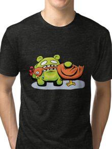 mmmmm chicken Tri-blend T-Shirt