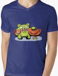 mmmmm chicken Mens V-Neck T-Shirt
