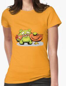mmmmm chicken Womens Fitted T-Shirt