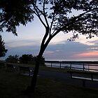 Have a seat & enjoy the sunset by Elizabeth Carpenter