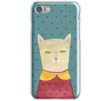Dreaming cat iPhone Case/Skin