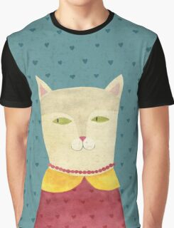 Dreaming cat Graphic T-Shirt