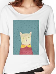 Dreaming cat Women's Relaxed Fit T-Shirt
