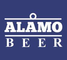Alamo Beer Shirt by Ben Parker