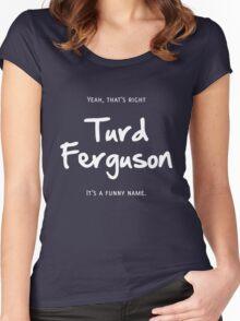 Turd Ferguson Women's Fitted Scoop T-Shirt