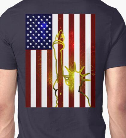 Flag of Liberty Unisex T-Shirt