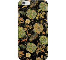 Pastel Tones Vintage Floral Design iPhone Case/Skin