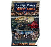 Make his dreams come true Buy more Liberty Bonds Poster