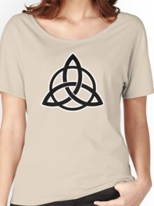 triquetra tribal tattoo viking symbol Women's Relaxed Fit T-Shirt
