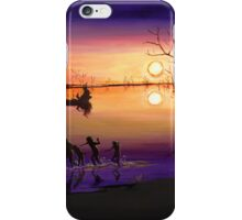 Menindee Sunset iPhone Case/Skin