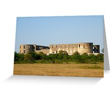 Borgholm's castle Greeting Card