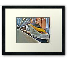 Eurostar. Framed Print
