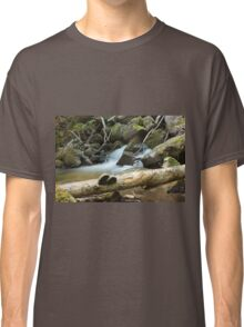 The fungus, the log and the waterfall Classic T-Shirt
