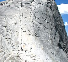 The Final Path, Half Dome Saddle, Yosemite National Park, CA 2012 by J.D. Grubb