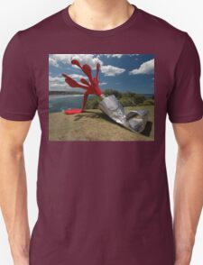 Red Paint Tube @ Sculptures By The Sea T-Shirt
