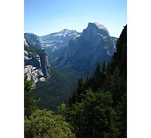 Half Dome from Four Mile Trail, Yosemite National Park, CA 2012 Photographic Print