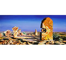 Broken Hill Sculptures Photographic Print