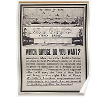 Which bridge do you want 002 Poster