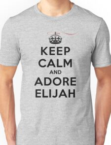 Keep Calm and Adore Elijah From Vampire Diaries LS Unisex T-Shirt