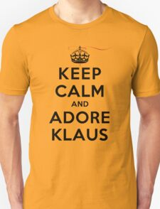 Keep Calm and Adore Klaus From Vampire Diaries LS Unisex T-Shirt