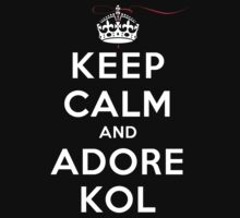 Keep Calm and Adore Kol From Vampire Diaries DS by rachaelroyalty