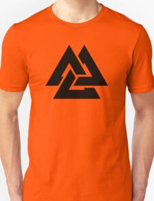 valknut tribal cool tattoo design Unisex T-Shirt
