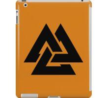 valknut tribal cool tattoo design iPad Case/Skin