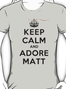 Keep Calm and Adore Matt From Vampire Diaries LS T-Shirt